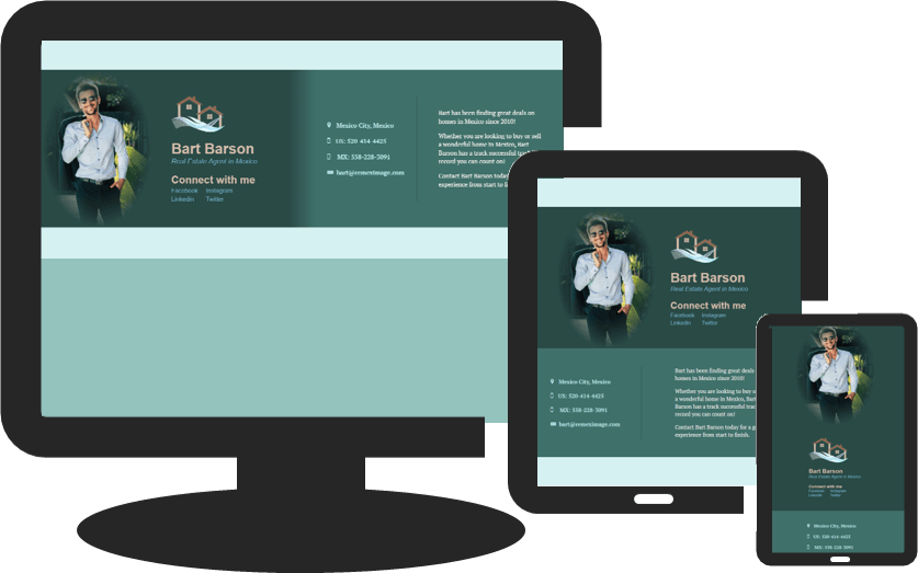 idx website, bio section, remeximage, greg hixon